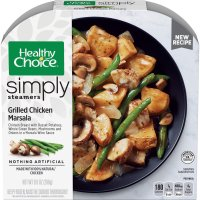 Healthy Choice Simply Steamers Chicken Marsala 9.9oz PKG product image