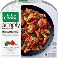 Healthy Choice Simply Steamers Meatball Marinara 10oz PKG product image