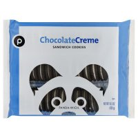 Store Brand Chocolate Creme Sandwich Cookies 15.5oz PKG product image