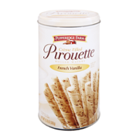 Pepperidge Farm Creme Filled Pirouette Rolled Wafers French Vanilla 13.5oz Tin product image