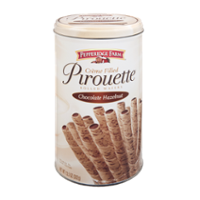 Pepperidge Farm Creme Filled Pirouette Rolled Wafers Chocolate Hazelnut 13.5oz Tin product image
