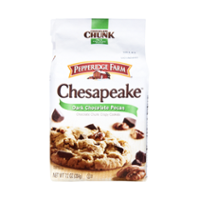 Pepperidge Farm Chesapeake Cookies Dark Chocolate Pecan 7.2oz PKG product image
