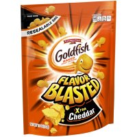 Pepperidge Farm Goldfish On the Go! Flavor Blasted Xtra Cheddar 11oz Bag product image