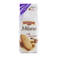 Pepperidge Farm Milano Cookies Milk Chocolate 6oz PKG product image