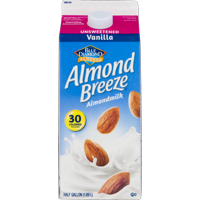 Almond Breeze Almond Milk Unsweetened Vanilla 64oz CTN product image