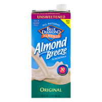 Almond Breeze Unsweetened Original Non-Dairy Beverage 32oz CTN product image