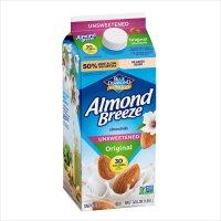 Almond Breeze Unsweetened Original 64oz CTN product image