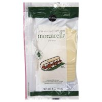 Store Brand Deli Packaged Sliced Part-Skim Mozzarella Cheese 8CT 6oz PKG product image