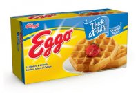 Eggo Thick & Fluffy Original Waffles 6CT 11.6oz Box product image