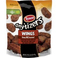 Tyson Anytizers Chicken Wings Honey BBQ 22oz Bag product image