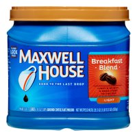 Maxwell House Ground Coffee Breakfast Blend Light 25.6oz Can product image