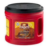 Folgers Coffee 100% Colombian Ground Medium Dark 24.2oz Can product image