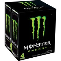 Monster Energy Drink 4PK of 16oz Cans product image