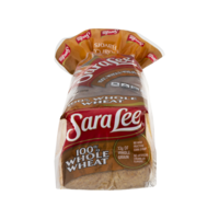 Sara Lee 100% Whole Wheat Bread 20 oz PKG product image