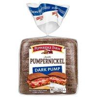 Pepperidge Farm Dark Pumpernickel Bread 16oz PKG product image