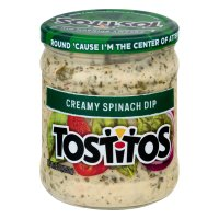 Tostitos Creamy Spinach Dip 15oz Jar product image