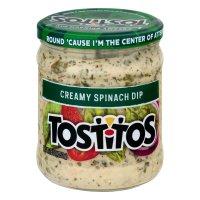Tostitos Creamy Spinach Dip 15oz Jar product image