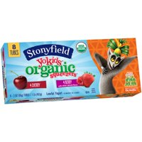 Stonyfield Farm YoKids Squeezers 4Berry & 4Cherry 8CT 2oz Tubes product image