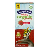 Stonyfield Farm YoKids Squeezers Strawberry 8CT 2oz Tubes product image