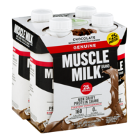 Muscle Milk Nutritional Shake Chocolate 4PK 11oz EA product image