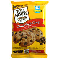 Nestle Toll House Cookie Dough Chocolate Chip 24CT 16.5oz PKG product image