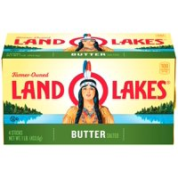 Land O Lakes Butter Salted Sticks 4 Quarters 1LB Box product image