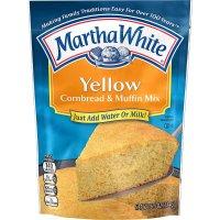 Martha White Yellow Cornbread & Muffin Mix 6.5oz Pouch product image