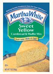 Martha White Sweet Yellow Cornbread & Muffin Mix 7oz Pouch product image