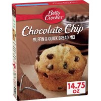 General Mills Betty Crocker Premium Muffin & Quick Bread Mix Chocolate Chip 14.75oz Box product image