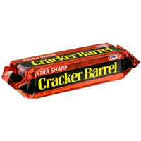Cracker Barrel Cheese Extra Sharp Natural Cheddar Yellow 8oz Bar product image