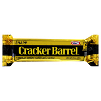 Cracker Barrel Cheese Sharp Natural Cheddar Yellow 8oz Bar product image