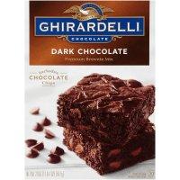 Ghirardelli Brownie Mix Dark Chocolate 20oz Box product image