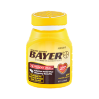 Bayer Aspirin 325mg Tablets 200CT Value Size Bottle product image