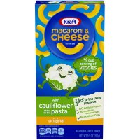 Kraft Original Dinner w/Cauliflower Added Pasta Macaroni & Cheese 5.5oz Box product image