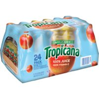 Tropicana 100% Apple Juice 10oz EA 24CT BTLS product image