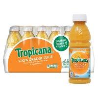 Tropicana 100% Orange Juice 10oz EA 24CT BTLS product image