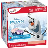 Yoplait Kids Blueberry/Strawberry Low Fat Yogurt 4oz EA 8CT PKG product image
