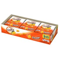 Pepperidge Farm Goldfish Lunch Packs Cheddar Crackers 1oz Bags 9ct product image