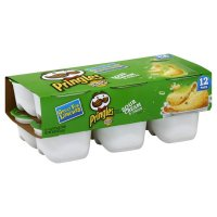 Pringles Snack Stacks Sour Cream & Onion Potato Crisps .74oz EA 12CT 8.88oz PKG product image