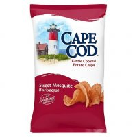 Cape Cod Potato Chips Kettle Cooked Sweet Mesquite Barbeque 7.5oz Bag product image