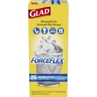 Glad Force Flex Medium Garbage Bags 8 Gallon 26CT product image