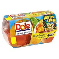Dole Mandarins in Orange Gel 4.3oz EA 4CT 17.2oz PKG product image