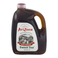 Arizona Southern Style Real Brewed Sweet Tea 128oz BTL product image