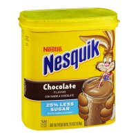 Nestle Nesquik Chocolate Flavor Powder Drink Mix 18.7oz PKG product image