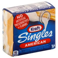 Kraft American Cheese Singles 16 CT 12oz PKG product image