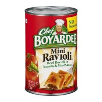 Chef Boyardee Mini Ravioli Beef Ravioli in Tomato Sauce 40oz Can product image