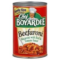 Chef Boyardee Beefaroni 40oz Can product image