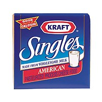 Kraft American Cheese Singles 24CT 16oz PKG product image