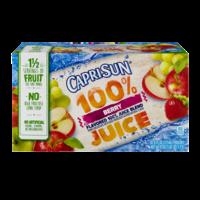 Capri Sun 100% Juice Pouches Berry 10CT 6oz EA 60oz PKG product image