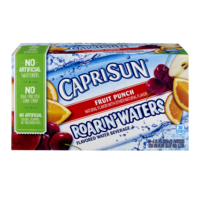 Capri Sun Roarin Waters Fruit Punch 10CT of 6oz EA product image